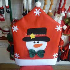 red adorable elk snowman santa claus christmas kitchen dining