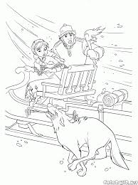 coloring page wolves attack