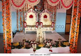 indian wedding chairs for and groom india wedding stock photos india wedding stock images alamy