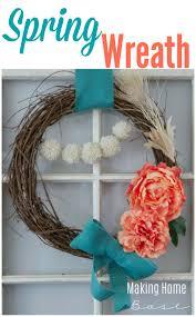 Spring Wreath Ideas Spring Wreath U0026 Door Decor