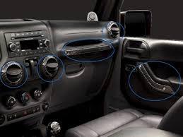 4 Door Jeep Interior Mopar Genuine Jeep Parts Accessories Jeep Wrangler Jk Interior