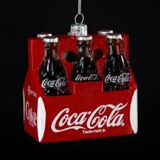 pack of 6 classic coca cola six pack glass bottles
