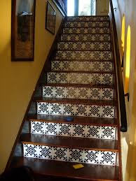 tile and wood stair idea floor stairs wood stairs