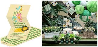 jungle baby shower ideas photo jungle baby shower favors candles image