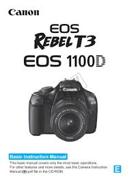 canon eos 1100d manual