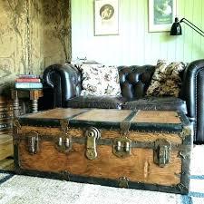vintage trunk coffee table steamer trunk coffee table large steamer trunk coffee table sold