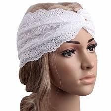 lace headwear bolayu fashion women lace headband headwear twist sport