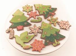 retro style christmas cookies cookie decorating