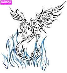 tribal phoenix tattoo designs phoenix tattoo