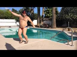 Pool Boy Meme - watching this guy dancing in a speedo poolside will make you smile