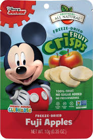 amazon brothers natural fruit crisps mickey mouse fuji
