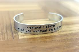 Wedding Gift For Sister Sister In Law Gift I Gained A Sister When You Married