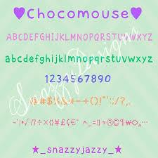 font apk chocomouse premium font apk snazzydesigns