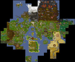 runescape map there is an u0027onboard map u0027 to help lost adventurers