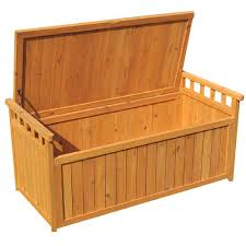 Wooden Storage Bench Greenfingers 2 Seater Storage Bench On Sale Fast Delivery