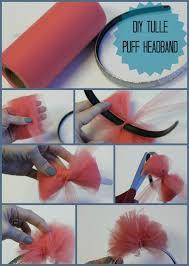 how to make headband bows tulle puff headband the hair bow company
