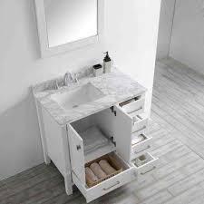 top 36 modern single sink bathroom vanity transitional regarding