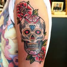 137 best skull tattoos images on pinterest girls projects and