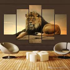 Canvas Without Frame 2017 Animal Lion Wall Art Picture Personalized Gifts Home Drawing