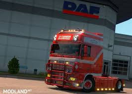 Daf Xf Super Space Cab Interior Daf Xf 95 Super Space Cab Weeda Updated Mod For Ets 2