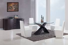 Black Oval Dining Room Table - black oval glass dinning roomable setglass white diningableround