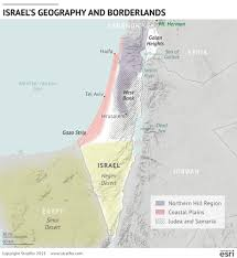 Negev Desert Map How The U S Iranian Pact Affects Israel Stratfor Worldview