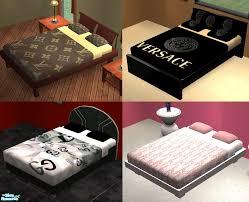Name Brand Comforters Mod The Sims Designer Bedding Set