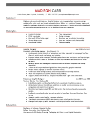Creative Resume Samples Pdf by Glamorous Graphic Designer Resume Sample Format For Doc Template