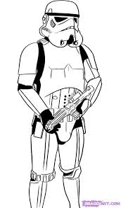 how to draw a stormtrooper step by step star wars characters