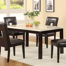 dining room contemporary round dining table for 6 dining set