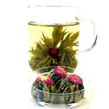 Jasmine Tea Flowers - flowering teas silver tips tea online tea shop