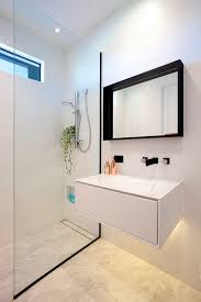 Small Bathroom Designs With Walk In Shower Black Frame Showers U2013 Sophisticated With Modern Industrial Flair