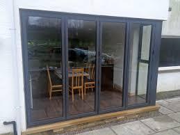 Bi Fold Doors Exterior by Visofold 1000 Bi Fold Doors Alitherm 800 Windows Recently