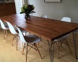Reclaimed Dining Room Tables Reclaimed Wood Dining Table Etsy