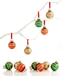 box of 12 multi mini ornaments undefined macy s