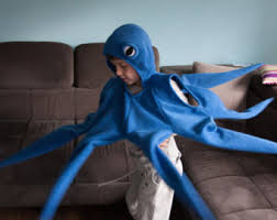 Octopus Halloween Costumes Octopus Costume Etsy