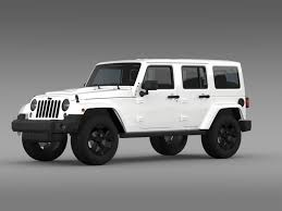 jeep wrangler black 3d model jeep wrangler black edition 2 2015 cgtrader