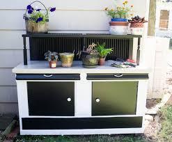 10 diy potting bench ideas to make gardening work easier