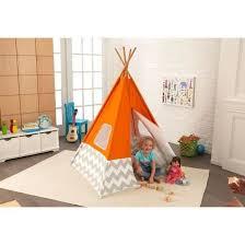 tente chambre enfant tente tipi d indien pour chambre d enfant orange achat vente