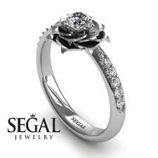 simple unique engagement rings 14k white gold 0 25ct cut delicate engagement