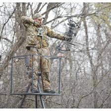 guide gear 13 deluxe tripod deer stand 177429 tower tripod