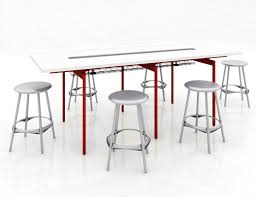 Bar Height Meeting Table Antenna Tables And Desks Knoll