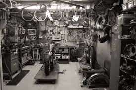 interior cool garage makeover design with equipment motorcycle