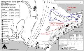 State Park Map by Active Life Dc Lee U0027s Woods Trail Leesylvania State Park