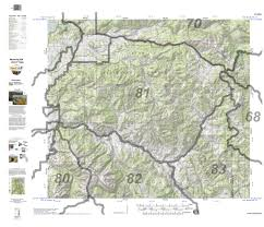 Wy Map Huntdata Wyoming Topo Map For Elk Unit 81 Huntdata Llc Avenza Maps