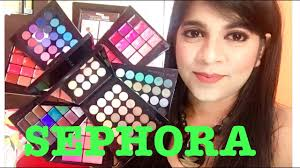 sephora review all in one makeup kit review hindi youtube
