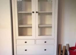 ikea hemnes glass door cabinet our new china cabinet set up ikea hemnes glass door cabinet living