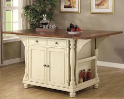 cottage kitchen style with beige painting kitchen island ideas