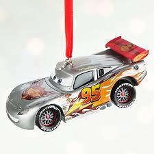 lightning mcqueen light up sketchbook ornament personalizable