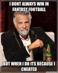 Cheater Meme - football cheater